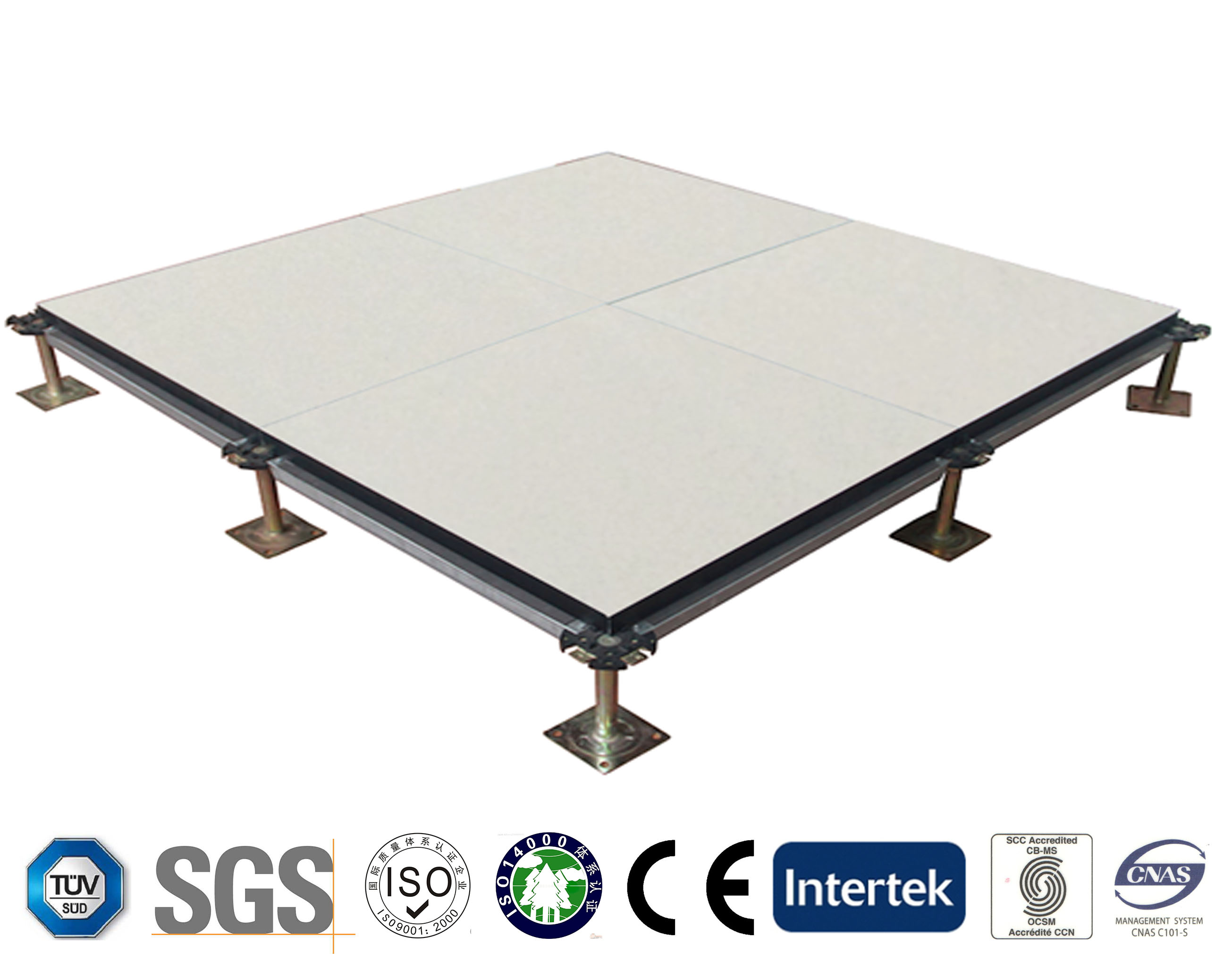Calcium Sulphate Panels with Ceramic Finish